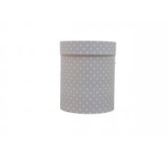 Коробка картонная круглая с рисунком 150*180 дизайн 119