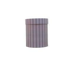 Коробка картонная круглая с рисунком 150*180 дизайн 126