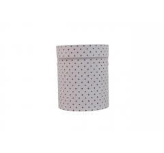 Коробка картонная круглая с рисунком 150*180 дизайн 97