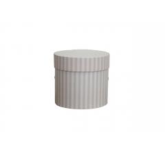 Коробка для цветов цилиндр, d-120, h-110, дизайн 72