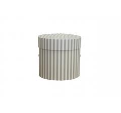 Коробка для цветов цилиндр, d-120, h-110, дизайн 75