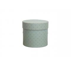 Коробка для цветов цилиндр, d-120, h-110, дизайн 76