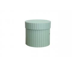 Коробка для цветов цилиндр, d-120, h-110, дизайн 77