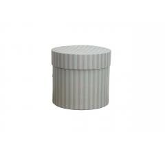 Коробка для цветов цилиндр, d-120, h-110, дизайн 78