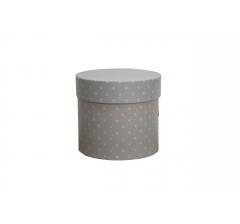 Коробка для цветов цилиндр, d-120, h-110, дизайн 79