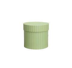 Коробка для цветов цилиндр, d-120, h-110, дизайн 80