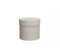 Коробка для цветов цилиндр, d-120, h-110, дизайн 86