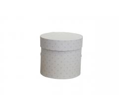 Коробка для цветов цилиндр, d-120, h-110, дизайн 88