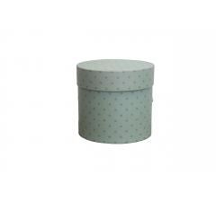 Коробка для цветов цилиндр, d-120, h-110, дизайн 90