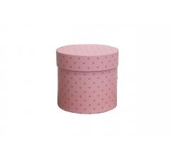 Коробка для цветов цилиндр, d-120, h-110, дизайн 92