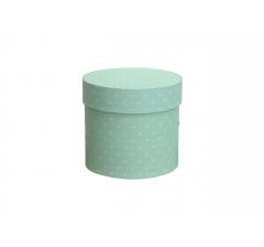 Коробка для цветов цилиндр, d-120, h-110, дизайн 96
