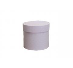 Коробка для цветов цилиндр, d-120, h-110, дизайн 98