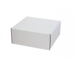 Коробка  150*150*70 уши бел ДП115
