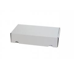 Коробка 28*15*6 см, бел, ДП71