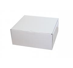 Коробка 30*30*13 см, дизайн 12, ДП67 белая