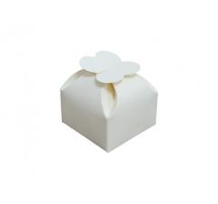 """Коробка """" Цветок"""", кремовый"""
