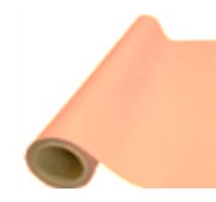 Пленка матовая корейская  50 см/ 10 м, персик