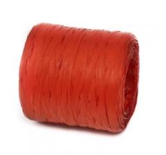 Рафия искусственная 200 м, красная