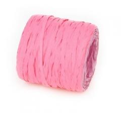 Рафия искусственная 200 м, ярко-розовая