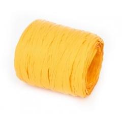 Рафия искусственная 200 м, желтая