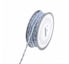 Шнур канатный 10 м, голубой с серебристой нитью