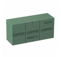 Флористическая пена OASIS® CLASSIC Floral Foam 23х11х8см