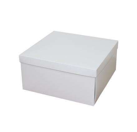 Белые коробки