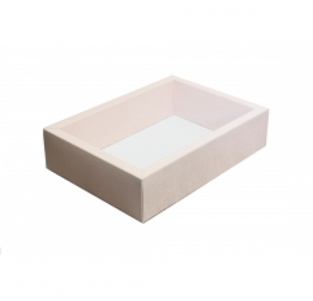 270*190*65 коробки с прозрачными крышками