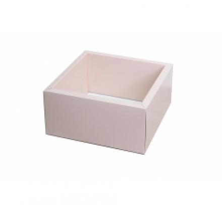 230*230*100 коробки с прозрачными крышками