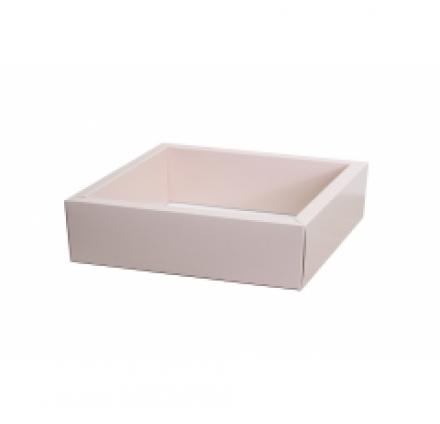 250*250*80 коробки с прозрачными крышками