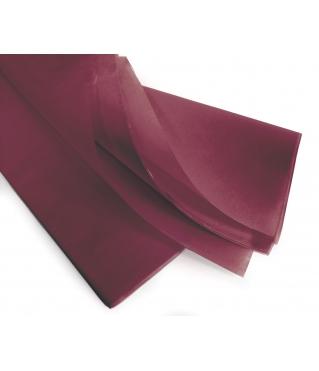 Бумага тишью 75*50 см, 24 листа, винная