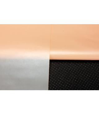 Пленка для цветов 60 х 60 см, матовая персиковая
