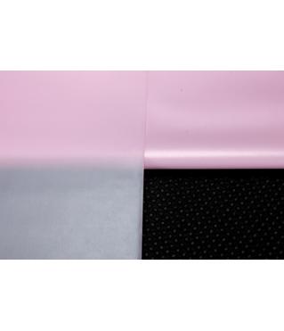 Пленка для цветов 60 х 60 см, матовая розовая